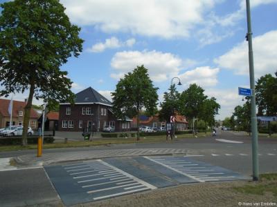 Buurtschap Vloet, kruispunt Leeuwstraat / Vloetstraat