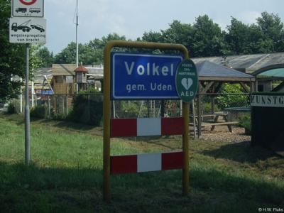 Volkel is een dorp in de provincie Noord-Brabant, in de streek Noordoost-Brabant, gemeente Uden.