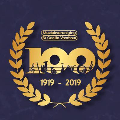 Muziekvereniging St. Cecilia in Voorhout is opgericht in 1919 en heeft dus in 2019 het 100-jarig bestaan gevierd.