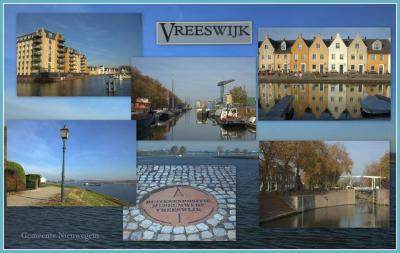 Collage van bijzonderheden in Vreeswijk (© Jan Dijkstra, Houten)