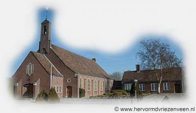 Vriezenveen, de Hervormde Westerkerk is in 1953 gebouwd als tweede Hervormde kerk in Vriezenveen omdat de eerste kerk, de Grote Kerk, wederom te klein werd.