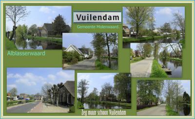 De prachtige, landelijke buurtschap met veel monumentale boerderijen Vuilendam doet zijn naam geen eer aan: het is er hartstikke 'schoon'. Maar vroeger schijnt het er wel een vieze boel te zijn geweest. Vandaar de naam. (© Jan Dijkstra, Houten)