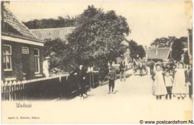 Wadway Groeten uit ca. 1900