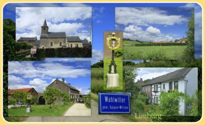 Wahlwiller, collage van dorpsgezichten (© Jan Dijkstra, Houten)