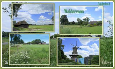 Walderveen, collage van buurtschapsgezichten (© Jan Dijkstra, Houten)