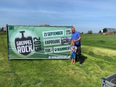 In september 2019 was er voor het eerst, na een voorbereiding van 5 jaar, ook in buurtschap Wammert een festival, en wel Greppelrock. Het was een groot succes, met een goed gevulde feesttent. Waar een kleine buurtschap groot in kan zijn! (© Greppelrock)