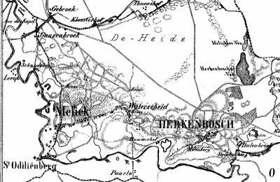 Waterschei wordt voor het eerst vermeld in 1613, en daarna pas weer, met de spelling Waterscheid op de kaart van J. Kuijper uit ca. 1870. Als iemand meer informatie heeft over de naamsverklaring en geschiedenis van deze buurtschap horen wij dat graag.