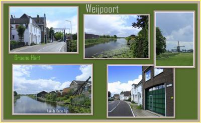 Weijpoort, collage van buurtschapsgezichten (© Jan Dijkstra, Houten)