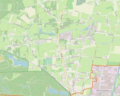 De dorps'kern' van Wenum-Wiesel heeft geen duidelijk centrum; de kern omvat louter lintbebouwingen, langs de Zwolseweg en Oude Zwolseweg en de daaraan gelegen zijwegen.