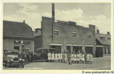 Wernhout KVW sigarenfabrieken