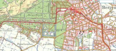 Rond 1970 verdwijnt de vermeende plaatsnaam Sluis weer van de kaarten. Helaas is de oude plaatsnaam Westdorp niet op de kaarten teruggekeerd. Wat ons betreft een vergissing. Immers de huizen staan er nog altijd, dús bestaat de buurtschap ook nog altijd.