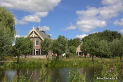 Westeinde, een juweeltje van een boerderij niet ver van het dorp Driebruggen