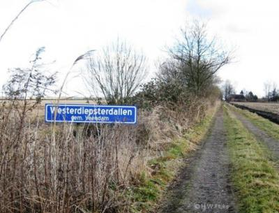 Buurtschap Westerdiepsterdallen is een stuk groter dan Abeltjeshuis; daar staan maar liefst twee huizen. Er valt dan ook twee keer zoveel over te vertellen. ;-) Kijk maar op www.plaatsengids.nl/westerdiepsterdallen.