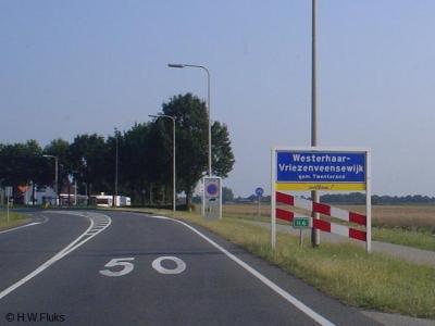 Westerhaar-Vriezenveensewijk is een dorp in de provincie Overijssel, in de streek Twente, gemeente Twenterand. T/m 2000 gemeente Vriezenveen.