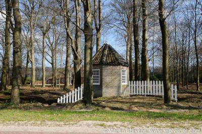 Ook de tuinkoepel van het Huis te Westervelde is een rijksmonument
