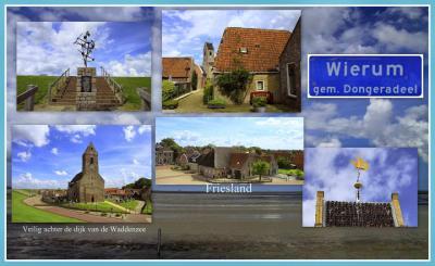 Wierum is een dorp in de provincie Fryslân, gemeente Noardeast-Fryslân. T/m 1983 gemeente Westdongeradeel. In 1984 over naar gemeente Dongeradeel, in 2019 over naar gemeente Noardeast-Fryslân. (© Jan Dijkstra, Houten)