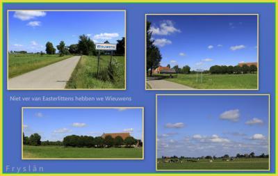 Wieuwens, collage van buurtschapsgezichten (© Jan Dijkstra, Houten)