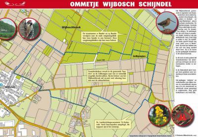 De afgelopen jaren zijn honderden Ommetjes rond de dorpen in ons land aangelegd. Ideaal voor inwoners en toeristen om even een blokje om te lopen en onderweg gelijk van bezienswaardigheden en de natuur te genieten. Ook Wijbosch heeft een Ommetje (6 km).