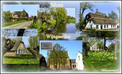 Wijngaarden, collage van dorpsgezichten (© Jan Dijkstra, Houten)