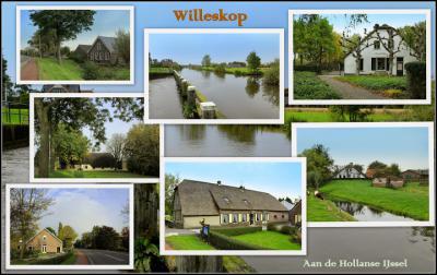 Willeskop, collage van buurtschapsgezichten (© Jan Dijkstra, Houten)