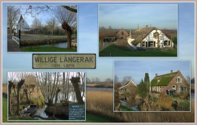 Willige Langerak, collage buurtschapsgezichten (© Jan Dijkstra, Houten)