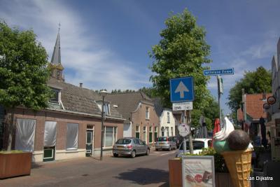 De Wilnisse Zuwe begint al bij de Dorpsstraat in Wilnis