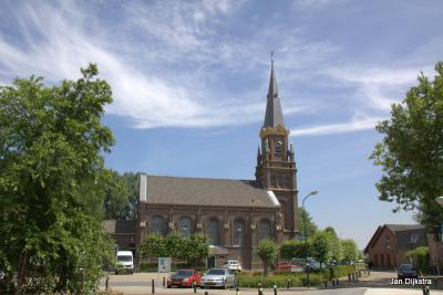 De kerk van de Hervormde Gemeente in Wilnis