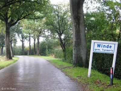 Winde is een dorp in de provincie Drenthe, gemeente Tynaarlo. T/m 1997 gemeente Vries.