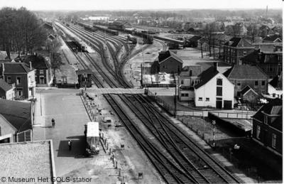 Winterswijk, spoorwegemplacement, jaren vijftig
