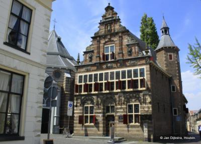 Stadsmuseum Woerden is gevestigd in het voormalige Stadhuis uit de 16e/17e eeuw.