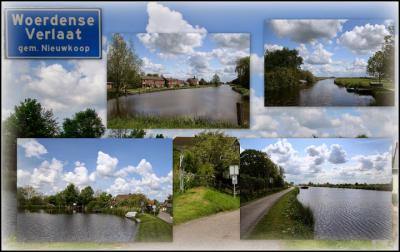 Woerdense Verlaat, collage van dorpsgezichten (© Jan Dijkstra, Houten)