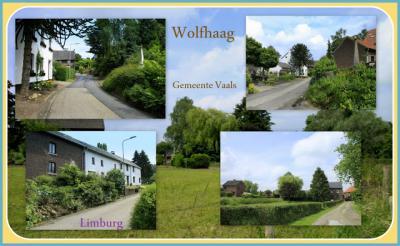 Wolfhaag, collage van buurtschapsgezichten (© Jan Dijkstra, Houten)
