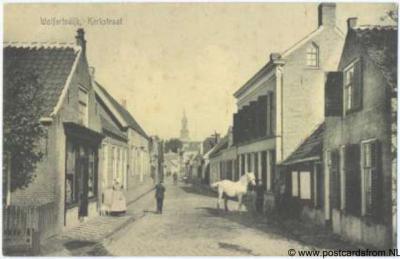 Wolphaartsdijk Kerkstraat ca. 1910