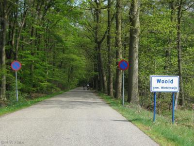 Woold (buurtschap van Winterswijk) wordt in het buitengebied al met borden aangegeven