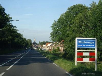 Woubrugge is een dorp in de provincie Zuid-Holland, in de streek Holland Rijnland, gemeente Kaag en Braassem. Het was een zelfstandige gemeente t/m 1990. In 1991 over naar gemeente Jacobswoude, in 2009 over naar gemeente Kaag en Braassem.
