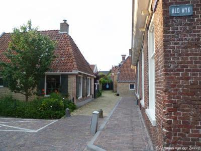 De straat Ald Wyk in Woudsend ligt, zoals de naam al suggereert, in het oude dorpscentrum. Het ligt aan de waterloop De Ie (voorheen: Ee) en grenst aan de Iewal.