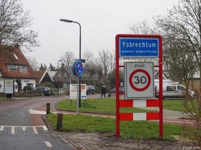 Ysbrechtum is een dorp in de provincie Fryslân, gem. Súdwest-Fryslân. T/m 1983 gem. Wymbritseradiel. Bij de herindelingen van 1984 is het dorp door een grenscorrectie toegevoegd aan de gem. Sneek, die in 2011 is opgegaan in de nieuwe gem. Súdwest-Fryslân.