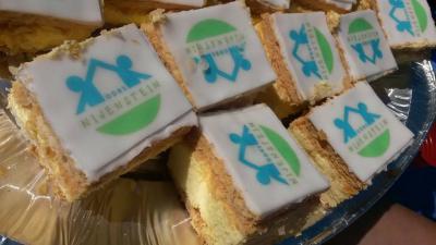 Dankzij verzet én inzet van de inwoners zijn de scholen in 2015 gefuseerd; ze gaan samen verder in Zandeweer. Op 11 juni 2015 is de naam van de nieuwe fusieschool onthuld: Openbare Dalton Basisschool Nijenstein, wat gevierd is met een toepasselijk hapje.