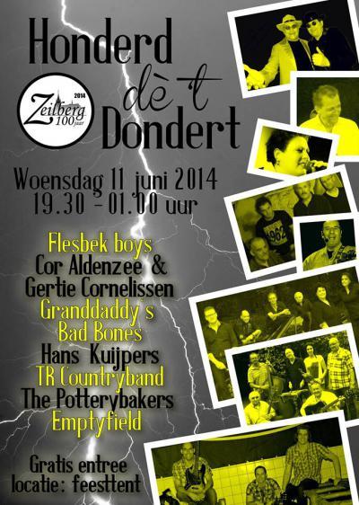 Zeilberg heeft in 2014 het 100-jarig bestaan als dorp gevierd, o.a. met een feestavond met veel livemuziek van Zeilbergse bodem.