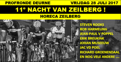 De Nacht van Zeilberg (wielrennen) is sinds 2017 weer een jaarlijks evenement. Vroeger beroemd als evenement voor beroepsrenners, tegenwoordig is het voor oud-beroepsrenners.