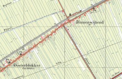 In de jaren zestig verandert de straatnaam in de atlassen ineens in Zittend. Wellicht was dit in de volksmond al langer de benaming/uitspraak?