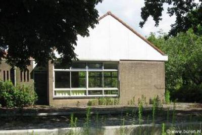 De voormalige kleuterschool van Zoelmond is in 2014 gesloopt