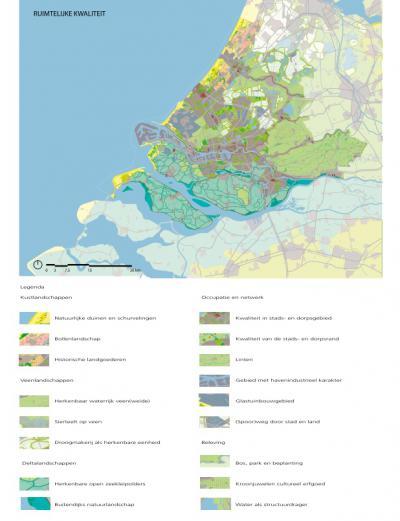 De provincie Zuid-Holland heeft in de Visie Ruimte en Mobiliteit niet alleen oog en beleid voor economie en mobiliteit, maar nadrukkelijk ook voor de bijzondere cultuurlandschappen in de provincie. (© Provincie Zuid-Holland)