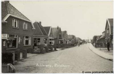 Zuidhorn, Achterweg, 1940