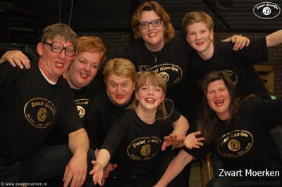Buurtvereniging Zwart Moerken heeft in 2013 met een zeer drukbezochte Bonte Avond het 50-jarig bestaan gevierd.
