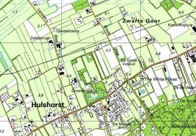 Zwarte Goor is een kleine buurtschap met slechts een 10-tal panden, gelegen NO van en vallend onder het dorp Hulshorst.