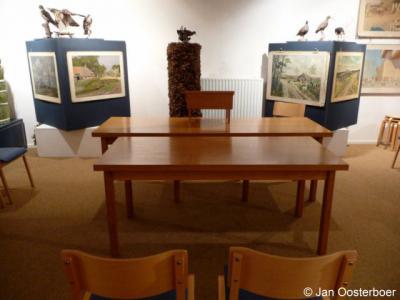 Schoonewelle, Museum voor Natuur en Ambacht te Zwartsluis, trouwzaal