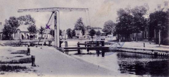 Dedemsvaart Sluis 6, buurtschapsgezicht, ca. 1910