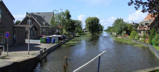 De Enkele Wiericke stroomt bij Hekendorp in de Hollandse IJssel