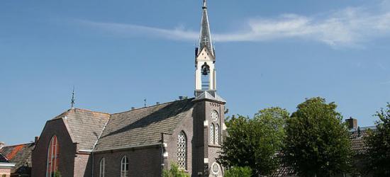 Hijum, kerk uit 1877.